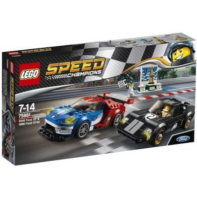 LEGO Speed Champions - 2016 Ford GT & 1966 Ford GT40: