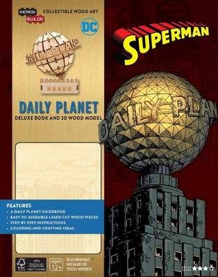IncrediBuilds: DC Comics: Superman: Daily Planet Deluxe Book and Model Set (Paperback, Export ed.): Manning