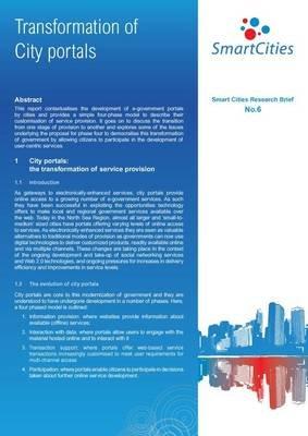 Transformation of City Portals (Electronic book text): Mark Deakin, Peter Cruickshank