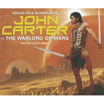 John Carter in The Warlord of Mars (Standard format, CD, Unabridged edition): Edgar Rice Burroughs