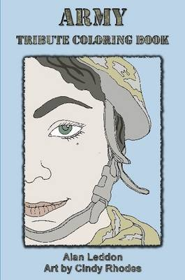 Army Tribute Coloring Book (Paperback): Cindy Rhodes
