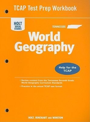 Tennessee Holt Social Studies World Geography Tcap Test Prep