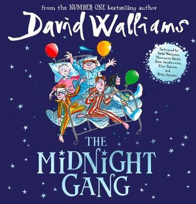 The Midnight Gang (Standard format, CD, Unabridged): David Walliams