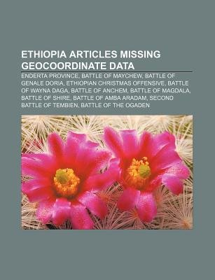 Ethiopia Articles Missing Geocoordinate Data - Enderta Province ...