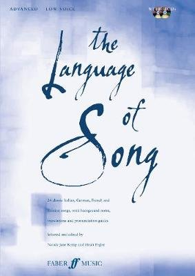 The Language of Song - Advanced (low Voice) (Mixed media product, New): Nicola-Jane Kemp, Heidi Pegler