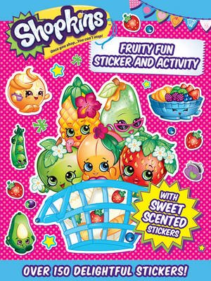 Shopkins Sticker Book - Fruity Fun (Paperback):