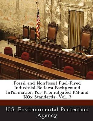 Fossil and Nonfossil Fuel-Fired Industrial Boilers - Background Information for Promulgated PM and Nox Standards, Vol. 3...