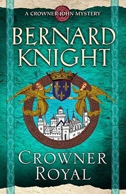 Crowner Royal (Hardcover, Library Edition): Bernard Knight