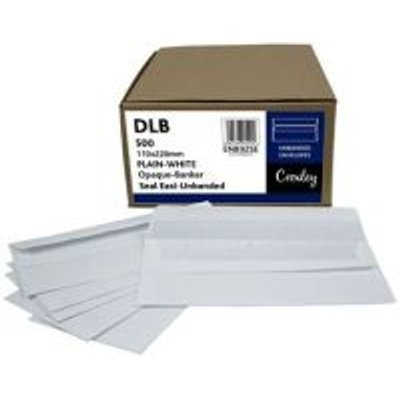 Croxley DLB White Seal Easi Envelopes (Box of 500):
