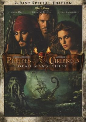 Pirates Of The Caribbean 2 - Dead Mans Chest (DVD)