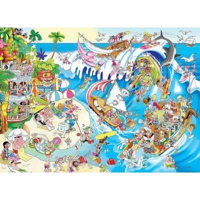 Jigsaw Puzzles - RGS Paradise Island Jigsaw Puzzle (1500 ...