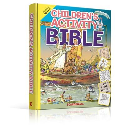 Children's Activity Bible (Hardcover): Leyah Jensen, Isabelle Gao