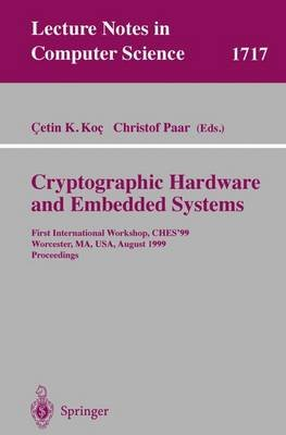 Cryptographic Hardware and Embedded Systems (Paperback): Cetin K. Koc, Christof Paar