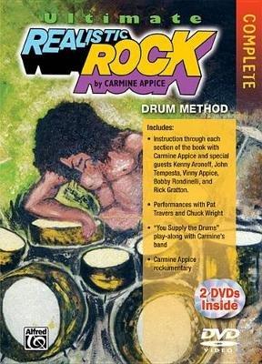 Ultimate Realistic Rock, Complete - 2 DVDs (Region 1 Import DVD): Carmine Appice