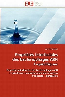 Proprietes Interfaciales Des Bacteriophages Arn F-Specifiques (French, Paperback): Langlet-J