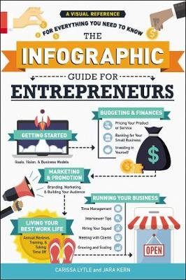 The Infographic Guide for Entrepreneurs - A Visual Reference for Everything You Need to Know (Paperback): Carissa Lytle, Jara...