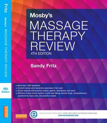 Mosby's Massage Therapy Review (Paperback, 4th Revised edition): Sandy Fritz