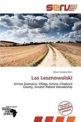 Las Lesznowolski (Paperback):