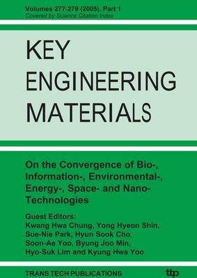 On the Convergence of Bio-, Information-, Environmental-, Energy-, Space- and Nano-technologies - Proceeding of the 1st...