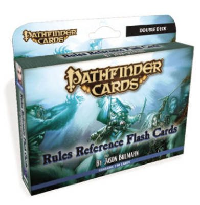 Pathfinder Cards: Rules Reference Flash Cards Double Deck (Game): Jason Bulmahn