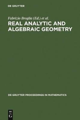 Real Analytic and Algebraic Geometry 1992 - Proceedings of the International Conference, Trento (Italy), September 21-25th,...