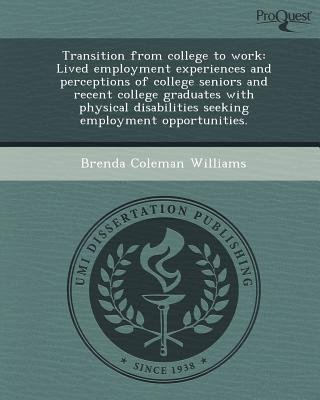transition from college to work