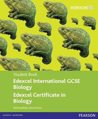 Edexcel International GCSE Biology Student Book with ActiveBook CD (Paperback): Philip Bradfield, Steve Potter
