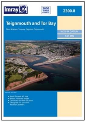 Imray Chart 2300.8 - Teignmouth and Torbay (Sheet map, folded): Imray