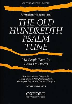 The Old Hundredth Psalm Tune (Sheet music, Score and parts (3 trumpets, timpani, & organ)): Ralph Vaughan Williams