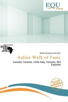 Italian Walk of Fame (Paperback): Wade Anastasia Jere
