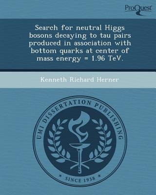 Search for Neutral Higgs Bosons Decaying to Tau Pairs Produced in Association with Bottom Quarks at Center of Mass Energy =...