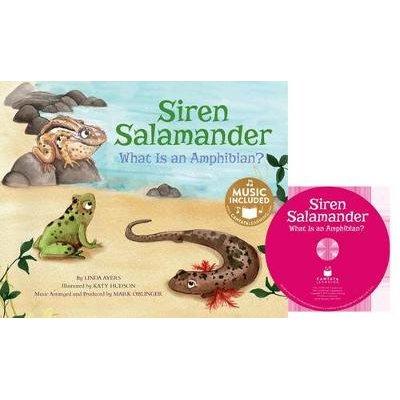 Siren Salamander - What Is an Amphibian? (Book): Linda Ayers