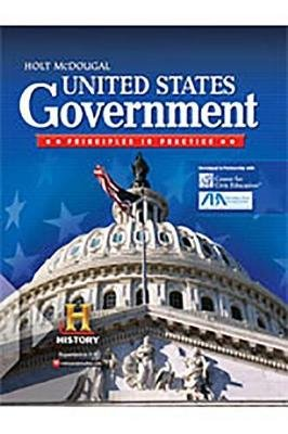 United States Government: Principles in Practice - Power Presentations with Media Gallery DVD-ROM (Hardcover): Holt McDougal