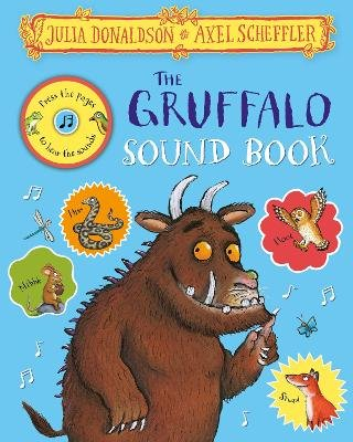 Gruffalo Press the Page Sound Book (Hardcover): Julia Donaldson