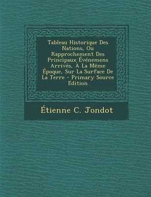 Tableau Historique Des Nations, Ou Rapprochement Des Principaux Evenemens Arrives, a la Meme Epoque, Sur La Surface de La Terre...