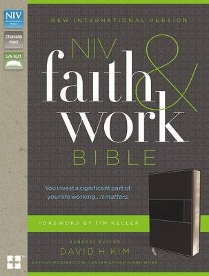 NIV, Faith and Work Bible (Leather / fine binding, Special edition): Christianity Today Intl, David Kim