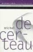 The Capture of Speech and Other Political Writings (Paperback): Michel De Certeau