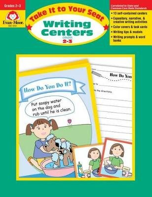 Writing Centers, Grades 2-3 (Paperback): Evan-Moor Educational Publishers