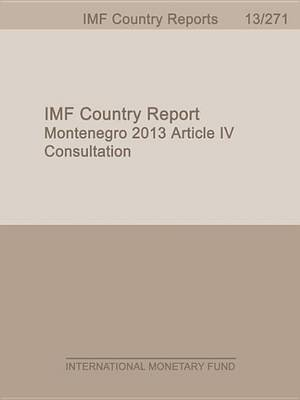Montenegro: 2013 Article IV Consultation (Electronic book text): International Monetary Dept