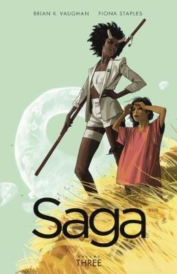 Saga, Volume 3 (Hardcover, Turtleback Scho): Brian K. Vaughan