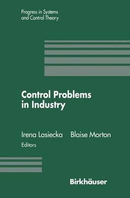 Control Problems in Industry - Proceedings from the SIAM Symposium on Control Problems San Diego, California July 22-23, 1994...