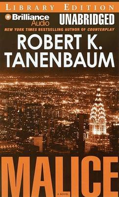Malice (Abridged, MP3 format, CD, Abridged edition): Robert K. Tanenbaum
