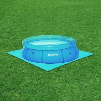 Bestway pool floor protector set of 8 promotions buy - Intex swimming pool accessories south africa ...