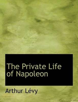 The Private Life of Napoleon (English, French, Large print, Paperback, large type edition): Arthur Lvy