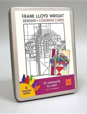 FLW Designs Colouring Card Kit CC107 (Calendar): Frank Lloyd Wright Foundation