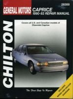 GM Chevrolet Caprice (1990-93) (Paperback): Chilton Automotive Books, The Nichols/Chilton, Chilton