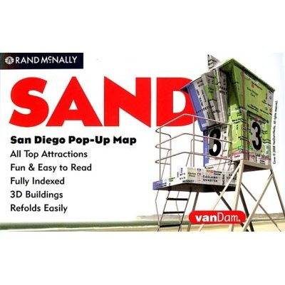 Rand McNally San Diego Pop-Up Map (Sheet map, folded): Rand McNally