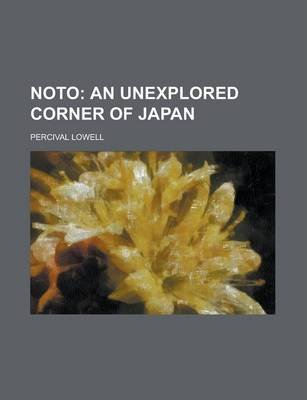 Noto (Paperback): Percival Lowell