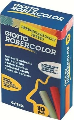 Giotto Robercolor Chalk Box (10 Pieces)(Assorted Colors):