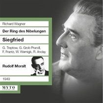 Various Artists - Richard Wagner: Siegfried (CD): Richard Wagner, Various Artists, Die Wiener Symphoniker, Rudolf Moralt